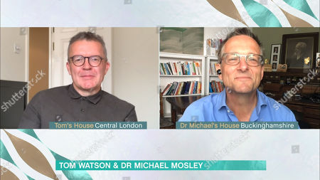 Tom Watson and Dr. Michael Mosley