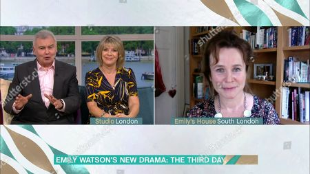 Stock Picture of Eamonn Holmes, Ruth Langsford and Emily Watson
