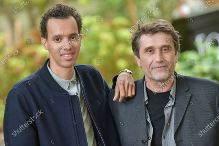 Director Eric Barbier and actor Gael Faye