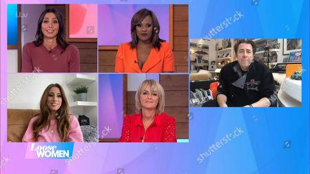 Christine Lampard, Kelle Bryan, Stacey Solomon, Jane Moore and Jonathan Ross