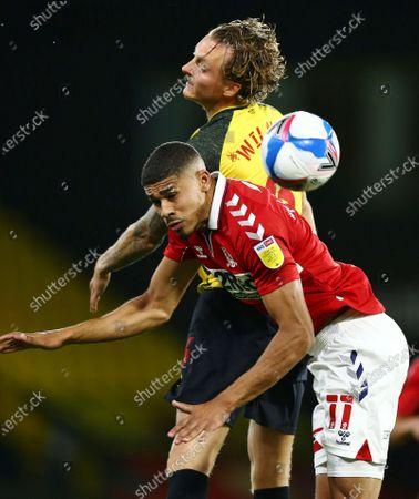 \wa6\ battles with Ashley Fletcher of Middlesbrough