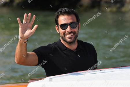 Editorial photo of 77th Venice International Film Festival, Arrivals, Italy - 10 Sep 2020