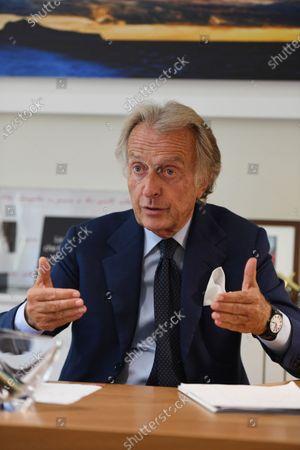 Editorial photo of Luca Cordero di Montezemolo, Rome, Italy - 11 Sep 2020