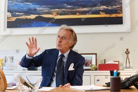 Editorial picture of Luca Cordero di Montezemolo, Rome, Italy - 11 Sep 2020