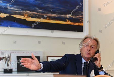 Editorial image of Luca Cordero di Montezemolo, Rome, Italy - 11 Sep 2020