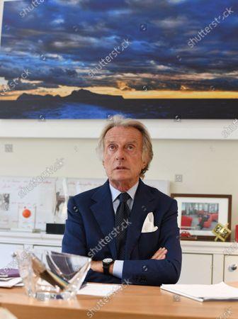 Stock Picture of Luca Cordero Di Montezemolo