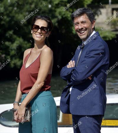 Stock Picture of Giorgia Surina, Adelmo Togliani