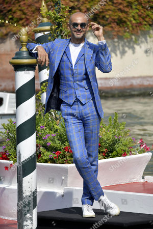 Editorial photo of 77th Venice International Film Festival, Arrivals, Italy - 11 Sep 2020