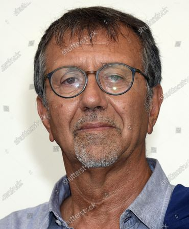 Stock Photo of Italian filmmaker Giorgio Verdelli poses at a photocall for 'Paolo Conte, via con me' during the 77th annual Venice International Film Festival, in Venice, Italy, 11 September 2020. The movie is presented Out of Competition at the festival running from 02 September to 12 September.