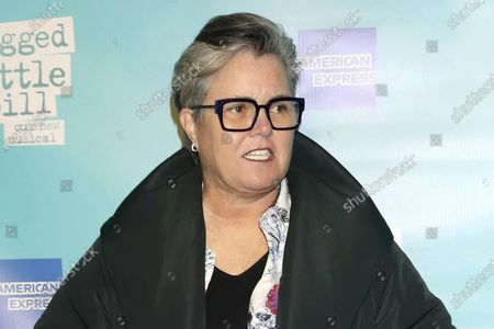 "Rosie O'Donnell attends the opening night of ""Jagged Little Pill"" on Broadway in New York. The comedian and talk-show host will be the first guest on former Trump attorney Michael Cohen's podcast, launching"