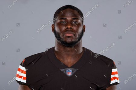 Editorial image of Browns 2020 Football Headshots, Cleveland, United States - 10 Sep 2020