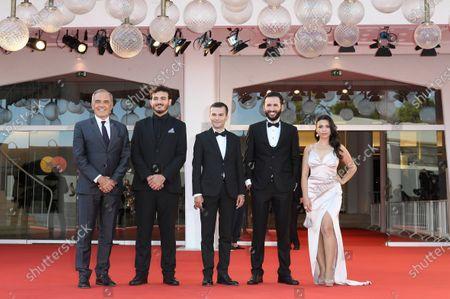 Festival director Alberto Barbera, Huseyn Nasirov, Orkhan Iskandarli, Rana Asgarova