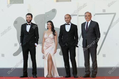 Director Hilal Baydarov, Orkhan Iskandarli, Rana Asgarova, Alberto Barbera
