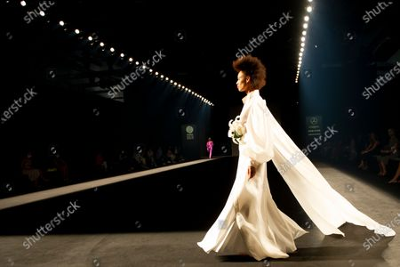 Stock Photo of Marcos Luengo's show during the MBFW Madrid (Mercedes Benz Fashion Week Madrid) Spring/Summer at Ifema in Madrid on September 11, 2020