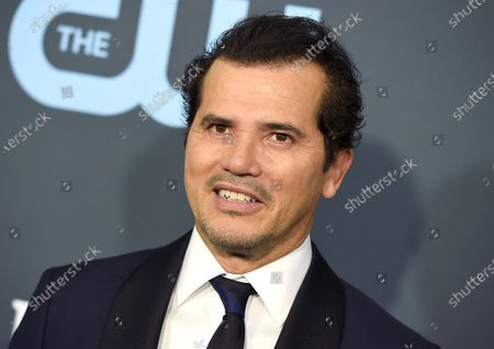 "John Leguizamo arrives at the 25th annual Critics' Choice Awards in Santa Monica, Calif. on . Leguizamo stars and directs the film ""Critical Thinking"