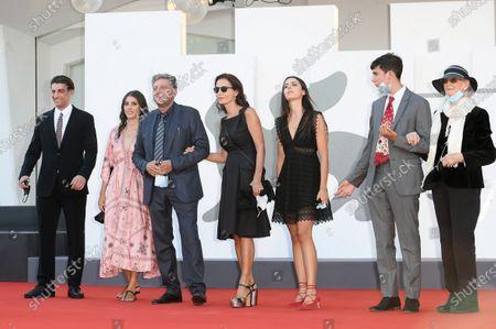Pietro Castellitto, Anna Castellitto, Sergio Castellitto, Margaret Mazzantini, Maria Castellitto, Cesare Castellitto