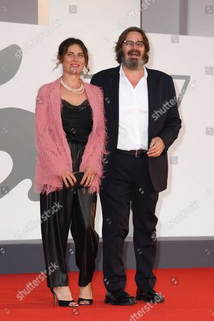 Stock Photo of Giuseppe Battiston and guest
