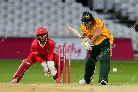 Joe Clarke of Nottinghamshire during the Vitality T20 Blast North Group match between Nottinghamshire County Cricket Club and Lancashire County Cricket Club at Trent Bridge, Nottingham