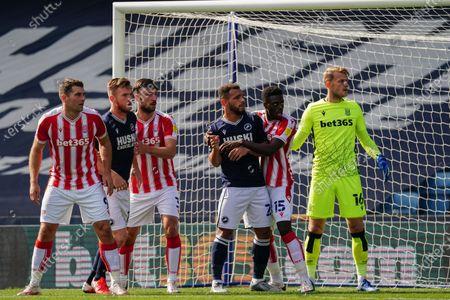 Editorial image of Millwall v Stoke City, EFL Sky Bet Championship, Football, The Den, London, UK - 12 Sep 2020