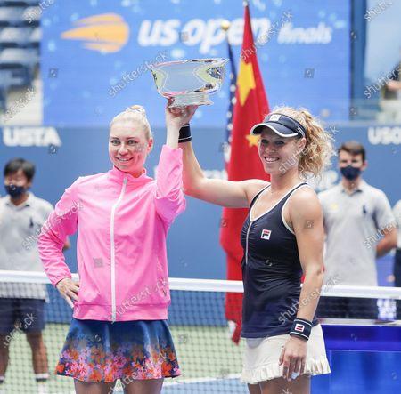 Editorial photo of US Open Tennis 2020, Flushing Meadows, USA - 11 Sep 2020