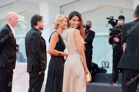 "Stock Picture of Ariadna Romero walks the red carpet ahead of the movie ""Nuevo Orden"" (New Order) at the 77th Venice Film Festival"