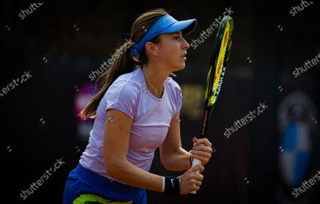 Belinda Bencic of Switzerland during practice ahead of the 2020 Internazionali BNL d'Italia WTA Premier 5 tennis tournament