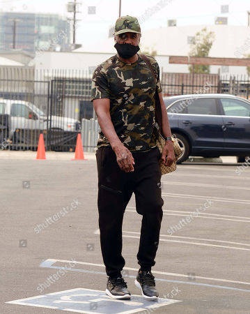 Charles Oakley seen outside of Dancing with the Stars rehearsals