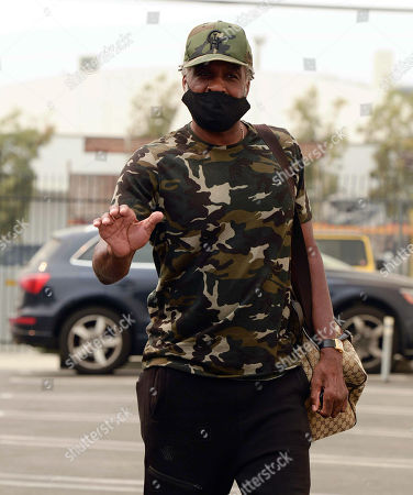 Editorial photo of Charles Oakley out and about, Los Angeles, USA - 11 Sep 2020