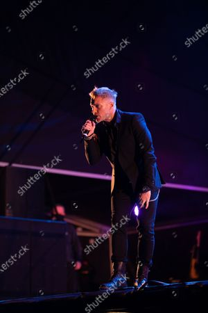 Editorial photo of Ronan Keating live in concert, Newcastle, UK - 11 Sep 2020