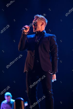 Stock Picture of Ronan Keating plays a socially distanced gig at Virgin Money Unity Arena