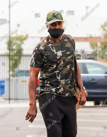 Charles Oakley seen outside of Dancing with the Stars rehearsal