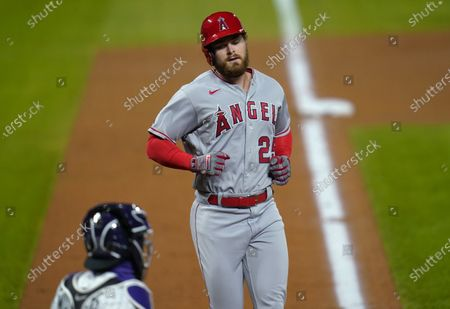 Editorial picture of Angels Rockies Baseball, Denver, United States - 11 Sep 2020
