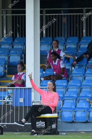 Casey Stoney Manager of Manchester United.