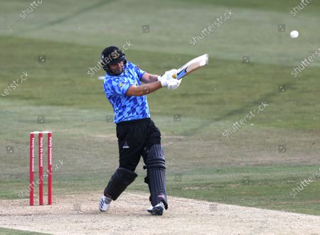 Editorial photo of Kent Spitfires vs Sussex Sharks, Vitality Blast T20, Cricket, The Spitfire Ground, Canterbury, Kent, United Kingdom - 12 Sep 2020