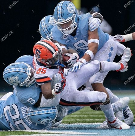 Editorial picture of Syracuse North Carolina Football, Chapel Hill, United States - 12 Sep 2020