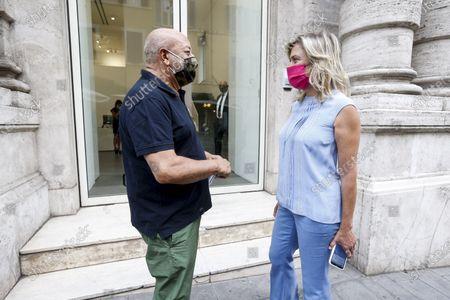 Ernesto Esposito with Pepi Marchetti Franchi