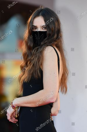 Kasia Smutniak arrives for the awarding ceremony of the 77th annual Venice International Film Festival, in Venice, Italy, 12 September 2020. The event is the first major in-person film fest to be held in the wake of the Covid-19 coronavirus pandemic. Attendees had to follow strict safety measures like mandatory face masks indoors, temperature scanners, and socially distanced screenings to reduce the risk of infection. The public was barred from the red carpet, and big stars were largely absent this year. The 77th edition of the festival runs from 02 to 12 September 2020.