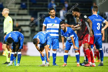 Editorial image of PEC Zwolle vs Feyenoord Rotterdam, Netherlands - 12 Sep 2020