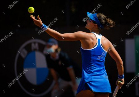 Stock Picture of Arina Rodionova of Australia in action during the first qualifications round at the 2020 Internazionali BNL d'Italia