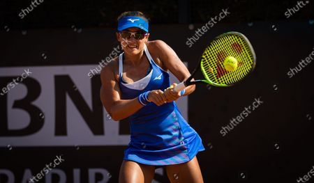Stock Photo of Arina Rodionova of Australia in action during the first qualifications round at the 2020 Internazionali BNL d'Italia