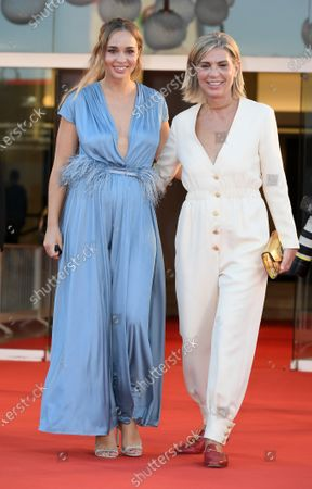 Francesca Comencini with her doughter Camille Dugay