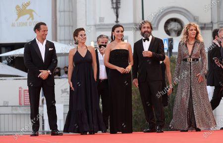 Stock Image of Director Stefano Mordini, Valeria Golino, Maya Sansa, Serena Rossi, Stefano Accorsi