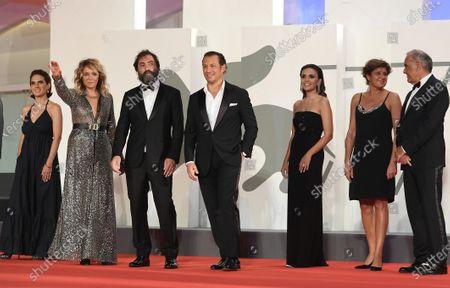 Maya Sansa, Valeria Golino, Director Stefano Mordini, Stefano Accorsi, Serena Rossi, Alberto Barbera