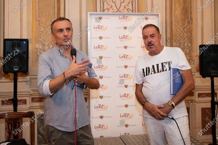 Editorial image of Massimo Lopez book presentation, Caserta, Italy - 11 Sep 2020