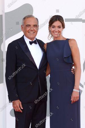 Stock Photo of Alberto Barbera and Julia Barbera
