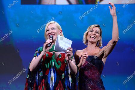 Cate Blanchett, Anna Foglietta