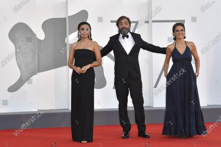Serena Rossi, Stefano Mordin and Maya Sansa