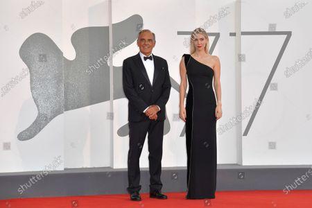 Alberto Barbera and Vanessa Kirby