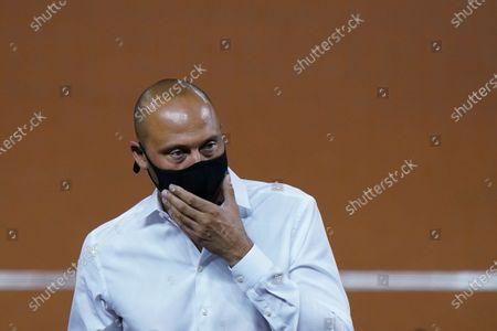 Editorial photo of Phillies Marlins Baseball, Miami, United States - 12 Sep 2020