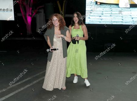 Editorial picture of THE BROKEN HEARTS GALLERY screening at the Sony Pictures drive-in, Culver City, CA, USA - 13 September 2020